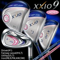 ゼクシオ9 XXIO9 レディース ゴルフクラブセット ゴルフセット ドライバー フェアウェイウッド...