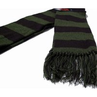 New York Hat ニューヨークハット マフラー  4795S RUGBY SCARF Brown Olive