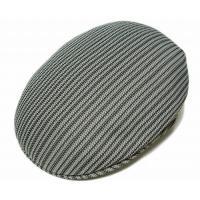 KANGOL(カンゴール) 帽子 ハンチング JACQUARD 504, Zip Stripe Black