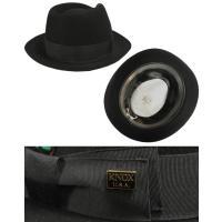 KNOX ノックス マーキュリー ハット ブラック グレー ブラウン 日本製 高級 兎毛 帽子
