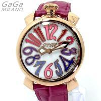 GaGa MILANO MANUALE ガガミラノ 腕時計クォーツ レディース/メンズ/ユニセックス...
