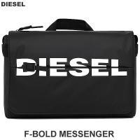 ディーゼル DIESEL メッセンジャーバッグ メンズ  BOLDMESSAGE  F-BOLD MESSENGER II X06501 P1705 T8013 ブラック