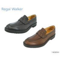 リーガル REGAL 146WAH ウォーカー ローファー モカシン ビジネスシューズ レザー コンフォートウォーキング 紳士靴 本革 撥水加工
