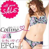 商品名:コリーヌ ブラジャー&ショーツセット  【ブラジャー】 サイズ:  Eカップ E70.E75...