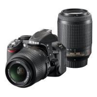 Nikon D3100 ダブルズーム 18-55 55-200 VR ◆業界最長1年間の中古保証付き...