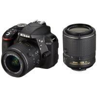 Nikon D3300 18-55mm 55-200mm II VR ダブルレンズキット ◆業界最長...