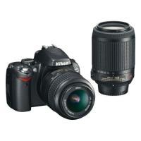 Nikon D60 ダブルズームキット 18-55 55-200 VR ◆業界最長1年間の中古保証付...