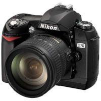 Nikon D70 AF-S DX ED 18-70mm F3.5-4.5G 付属 ◆業界最長1年間...