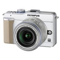 OLYMPUS PEN E-PL1 レンズキット ホワイト ◆業界最長1年間の中古保証付き!全品送料...