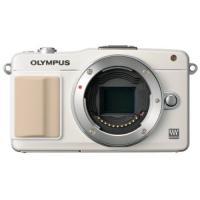 OLYMPUS PEN mini E-PM2 ボディ ホワイト ◆業界最長1年間の中古保証付き!全品...