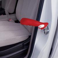 ドアに差し込んで握るだけで乗降をサポートする安全カーツール  商品名:オリレバー® ...