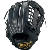 右投げ用 大人 ZETT(ゼット) 野球グラブ 軟式 ソフトボール 野球グローブ 天然皮革 ライテックス オールラウンド用 ブラック BSGB3910 全国送料無料