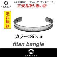 BANDEL バンデル チタン ブレスレット バングル titan bangle シルバー 全国送料無料