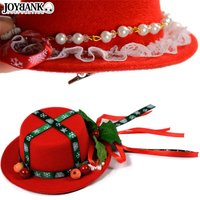 ミニハット クリスマス デコレーション帽子 ヘアアクセサリー  サンタ帽子 ゴスロリ