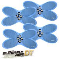 バタフライアブス ディープテック 専用パッド4枚セット BUTTERFLY ABS DT  腹筋マシン EMS