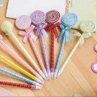 ぺろぺろキャンディー風ボールペン。 カラフルな色で持っているだけでとっても可愛くてテンションUP!!...