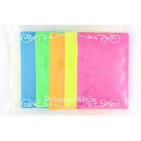 カラー:ピンク、イエロー、オレンジ、グリーン、スカイ、ホワイト(ブルー発光) 正味重量:5g/袋×6...