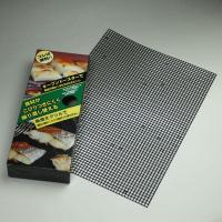 グリルに網を敷くだけで、お餅も焼き魚もくっつかない!?◆サイズも自由自在!繰り返し使えます♪この焼き...