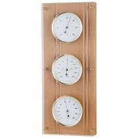 温度計、気圧計、湿度計が縦に三つ並んで配置されていて、ドイツ製ならではのシンプル&モダンなデザイン。...