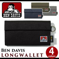 BEN DAVISフリーク必見アイテムが登場☆おなじみのロゴをポイントにしたマジックテープ式長財布!...