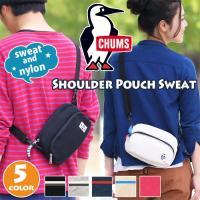 チャムスの代名詞、スウェット素材を用いたミニサイズショルダーバッグ[Shoulder Pouch S...