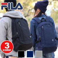 ロゴがポイントのシンプルなデザイン「FILA」のプリマシリーズから新作リュックが登場!メインルームは...