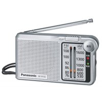 パナソニックラジオ RF-P155-S  小型なので持ち運びも楽、災害時の非常持ち出しとしても又日常...