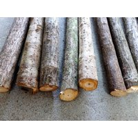 棒の長さ:約900mmから1800mm位まであります。 太さ: 太い部分18〜30mm位 自然木なの...