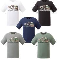 ノースフェイス THE NORTH FACE Tシャツ メンズ カモフラージュロゴティー NT315...