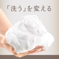 牛乳由来の保湿成分ミルクセラミド(スフィンゴミエリン、乳エキス、乳糖)を配合したバーム状の生せっけん...