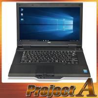 中古パソコン ノートパソコン 本体 ノートPC Windows10 NEC VK25TX-H 第4世...