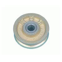 【代理店直送品】  ■仕様■ 車径(A):50mm ボス巾ベアリング寸法(B):18mm 耳巾(C)...