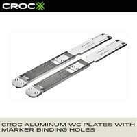 ■CROC ALUMINUM WC PLATES WITH MARKER BINDING HOLES...