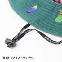 ハット 帽子 / go slow caravan ゴースローキャラバン メルトン刺繍 メトロハット / メンズ レディース 刺繍
