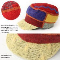 xob ゾブ Knit Cap Standard ツバ付きニットキャップ 帽子