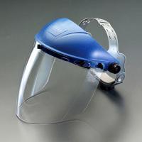 飛び散る切削屑から顔全体を保護します。  ●傷が付きにくく、衝撃・熱にも強く丈夫! ●ヘルメットの上...