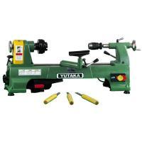 【ユタカ電動工具 小型木工旋盤 YSL-380GT】 ●標準で加工長さ420mm(延長ベットで最大1...