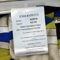エミリオプッチ 42RI76 S/Lワンピース サイズ:42 ブルー系