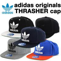 adidas(アディダス)Originals THRASHER スナップバックキャップ ■カラー:B...