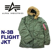 ALPHA INDUSTRIES (アルファ インダストリーズ) N-3B フライト ジャケット  ...
