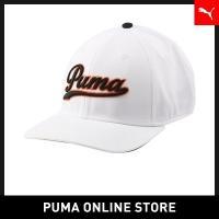 プーマ PUMA スクリプト フィット キャップ【メンズ ゴルフ GOLFキャップ 帽子】