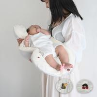 抱っこ布団  洗える オーガニック コットン 2重ガーゼ 果物 綿100% 背中スイッチ対策 新生児用 ベビー 寝かしつけ 寝具 お布団 出産準備