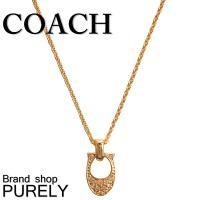 コーチ COACH パヴェ シグネチャー クリスタル ネックレス  ■サイズ  チェーン全長:約45...