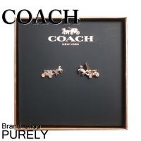 コーチ COACH 『ホースアンドキャリッジ ピアス』  ■サイズ  モチーフ:W1.5cm×H0....