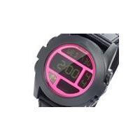 ニクソン NIXON バジャ BAJA デジタル メンズ 腕時計 BLACK BRIGHT PINK...