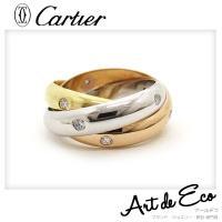 ブランド/ カルティエ Cartier 商品名/ カルティエ トリニティリング      15P ダ...