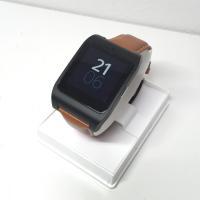 ■商品名 SONY / ソニー Smart Watch 3 スマートウォッチ3 中古 未使用純正革バ...