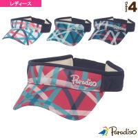 パラディーゾ テニスアクセサリ・小物  チェックバイザー/レディース(CPCW95)