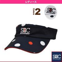 セントクリストファー テニスアクセサリ・小物  ポルカドット サンバイザー/レディース(STC-AHA4050)