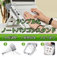 ◇ ノートパソコンスタンド 説明 ◇ ● ノートパソコンを高く置けるので、姿勢も正せます。 ● 裏面...